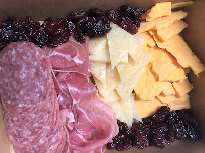 Cheese & Charcuterie option